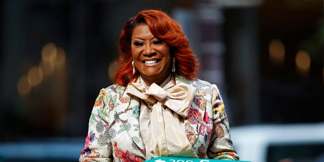 Patti LaBelle, graphic here during a rite on Tuesday, was respected by a city of Philadelphia with a widen of Broad Street renamed Patti LaBelle Way.
