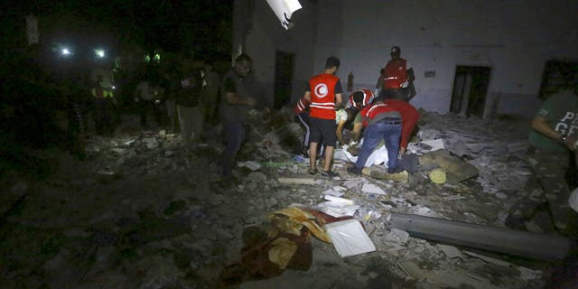 Westlake Legal Group AP19184088216570 At least 40 killed after airstrike hits migrant detention center in Libya SAMY MAGDY RAMI MUSA fox-news/world/world-regions/middle-east fnc/world fnc Associated Press article ae2bad6c-37d0-55d4-9fbd-ad6d14b0b3c2