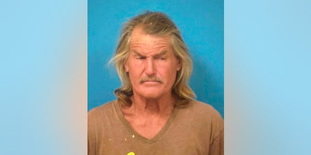 This undated reservation photo provided by the Sheriff's Office in Nye County, Nevada, shows Troy Ray. (Nye County Sheriff's Office via AP)