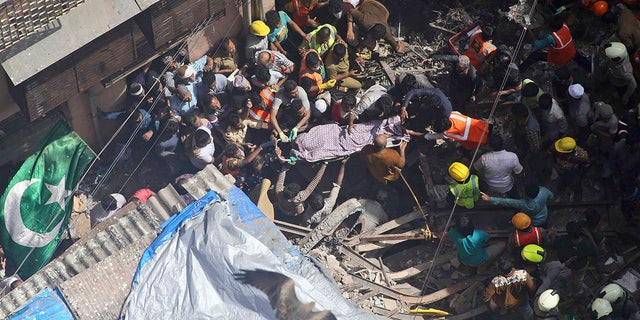 Westlake Legal Group AP19197361121356 Apartment building collapses in Mumbai, at least 3 dead and dozens feared trapped Lucia Suarez Sang fox-news/world/world-regions/india fox-news/world/world-regions/asia fox-news/world/disasters fox news fnc/world fnc ffbf629f-ffb9-5b5a-94fa-cc6a5bae1e88 article