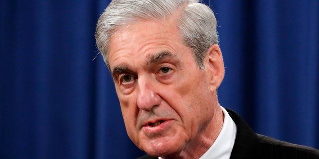 FILE - In this May 29, 2019, file photo, Special counsel Robert Mueller speaks at the Department of Justice in Washington, about the Russia investigation. (AP Photo/Carolyn Kaster, File)