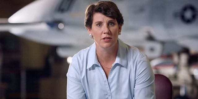 Marine combat aviator Amy McGrath announced she is running against Senate Majority Leader Mitch McConnell (Facebook)