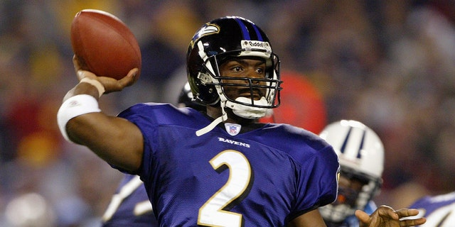 Anthony Wright played nine games with the Ravens in 2005. (Photo by Doug Pensinger/Getty Images)