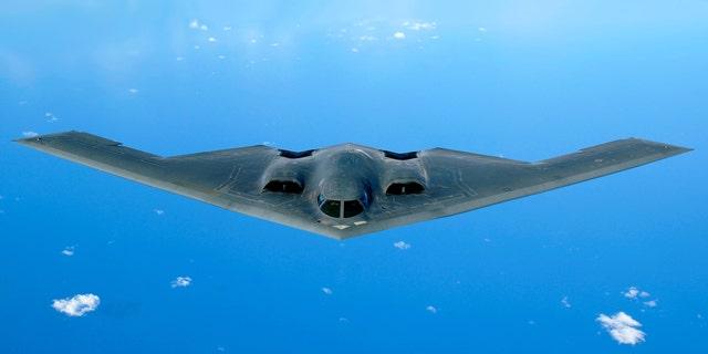 Westlake Legal Group B-2_Spirit_cropped B-2 bomber 30-year anniversary: Inside a B-2 stealth attack Warrior Maven Kris Osborn fox-news/tech/topics/us-air-force fnc/tech fnc article a713ce97-8366-5e65-b381-bdbaa3a5f760