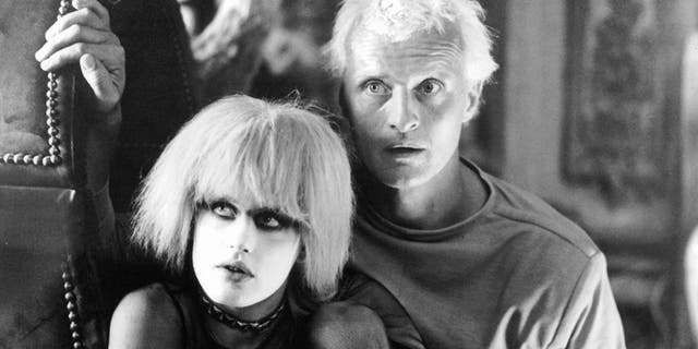 Daryl Hannah and Rutger Hauer in a scene from the film 'Blade Runner', 1982.