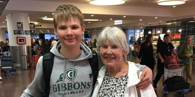 "Anton arrived in Sweden on Monday. ""He is safe with his grandparents,"" his mother confirmed on Twitter."