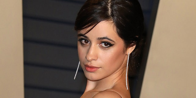 Camila Cabello attends a 2019 Vanity Fair Oscar Party hosted by Radhika Jones during Wallis Annenberg Center for a Performing Arts on Feb 24, 2019 in Beverly Hills, California.