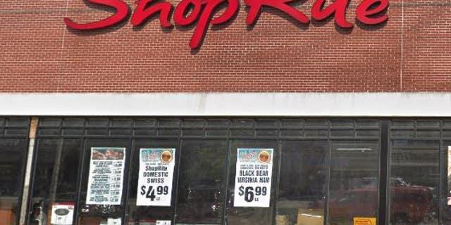 An external shot of the Bayonne, N.J. ShopRite supermarket where Lakia Pierce was recently arrested.