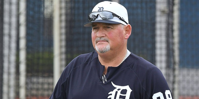 Former pitching coach, Chris Bosio, 56, of the Detroit Tigers was fired last year after using a racial slur towards 22-year old clubhouse attendant, Derrell Coleman II, who filed a lawsuit Thursday towards the club and Bosio. (Mark Cunningham/MLB Photos via Getty Images)