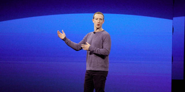 In this Tuesday, April 30, 2019 file photo, Facebook CEO Mark Zuckerberg makes the keynote speech at F8, the Facebook's developer conference in San Jose, Calif. (AP Photo/Tony Avelar)