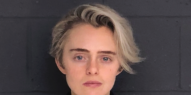 This Feb. 11, 2019, booking photo released by the Bristol County Sheriff's Office shows Michelle Carter, convicted for sending a barrage of text messages urging boyfriend Conrad Roy III to kill himself. (Bristol County Sheriff's Office via AP, File)