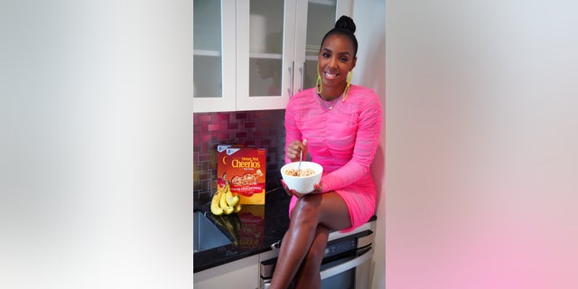 Kelly Rowland has partnered with Honey Nut Cheerios to encourage people to adopt simple, fun behaviors that get them active.