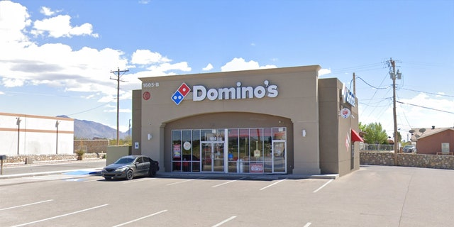 Domino's employees in Anthony, Texas, contacted the local police after the woman passed off a note explaining her ordeal.