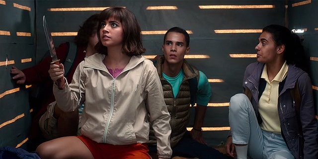 """""""Dora and the Lost City of Gold"""" is a children's film based on Nick Jr. classic cartoon """"Dora the Explorer."""" A critic lamented that the film's stars, Isabela Moner and Jason Wahlberg, aren't sexualized in the film."""