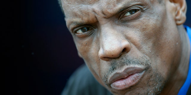 """Dwight """"Doc"""" Gooden, pictured in March 2017. (AP Photo/John Bazemore, File)"""
