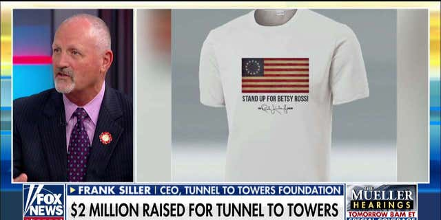 Rush Limbaugh's 'Stand Up for Betsy Ross' T-shirts raise $2M for Tunnel to Towers Foundation