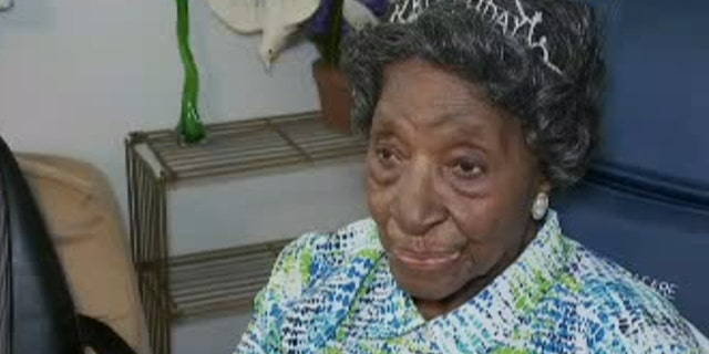 Elizabeth Francis of Houston, Texas turned 110 last week, celebrating alongside friends and family. She credits her faith in God for a long and healthy life.