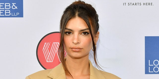 Emily Ratajkowski on July 9, 2019 in New York City. (Photo by Dia Dipasupil/Getty Images)