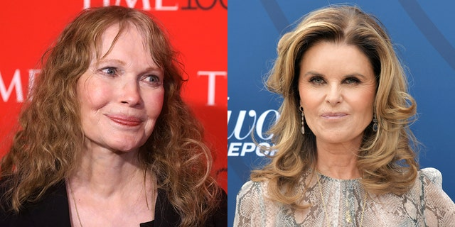 Celebs including Mia Farrow and Maria Shriver voiced their opinions on Mueller's testimony.