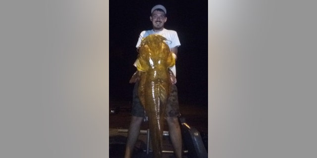 Marvin Griffin's 69.3-pound flathead weighed enough to clinch the Florida record.
