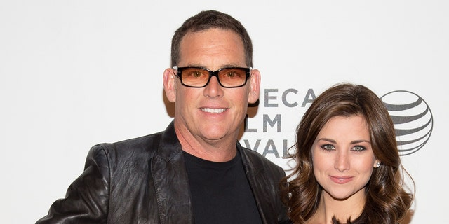 """NEW YORK, NY - APRIL 23: Director Mike Fleiss and Miss America 2012 Laura Kaeppeler attend the screening of """"The Other One: The Long, Strange Trip of Bob Weir"""" during the 2014 Tribeca Film Festival at BMCC Tribeca PAC on April 23, 2014 in New York City."""