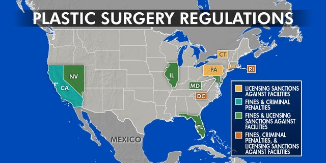 Florida now joins 7 other states and Washington, D.C. that have varying levels of penalties to keep clinics in check. They can operation from fines and rapist penalties like in California, to removing your permit revoked in Pennsylvania