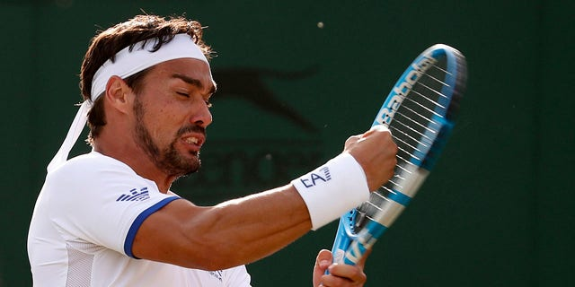 Italy's Fabio Fognini is still underneath a two-year trial after he angry a womanlike chair referee during a 2017 U.S. Open and got kicked out of that tournament.