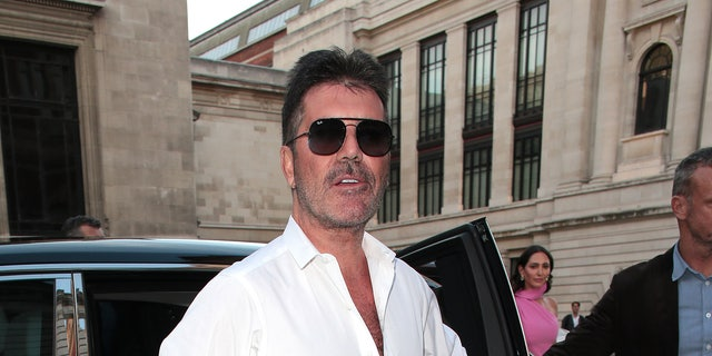 Simon Cowell seen attending Syco - summer celebration during Victoria and Albert Museum on Jul 4.