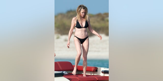 Melanie Griffith 61 Shows Off Bikini Body While Vacationing In Spain Fox News