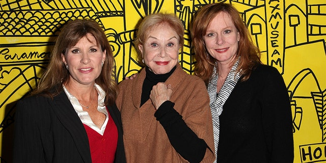 Judy Norton, Michael Learned and Mary McDonough from The Waltons in a 2012 record photo. (Photo by Brian To/FilmMagic)