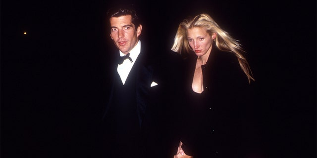 John F. Kennedy Jr. and Caroline Bessette in NYC, New York, March 11, 1996. (Photo by Evan Agostini / Liaison Agency)