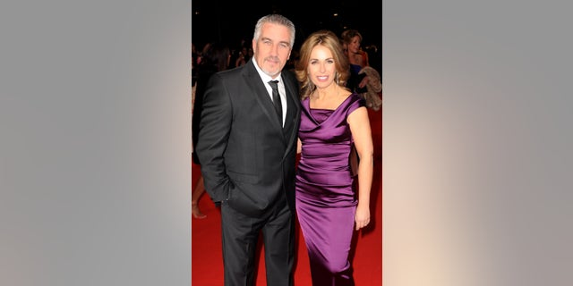 Paul Hollywood (L) and Alexandra Hollywood attend the National Television Awards at 02 Arena on January 21, 2015 in London, England. (Photo by Dave J Hogan/Getty Images)