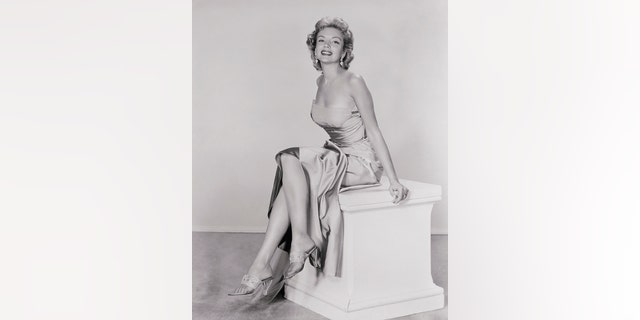 "Kathleen Hughes around the time she starred in ""Dawn At Socorro.""  — Getty"