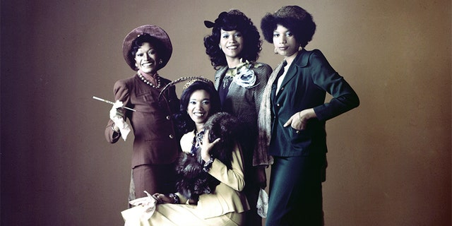 The Pointer Sisters, circa 1970.