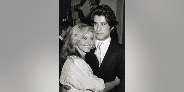 Olivia Newton John and John Travolta (Photo by Ron Galella/Ron Galella Collection via Getty Images)