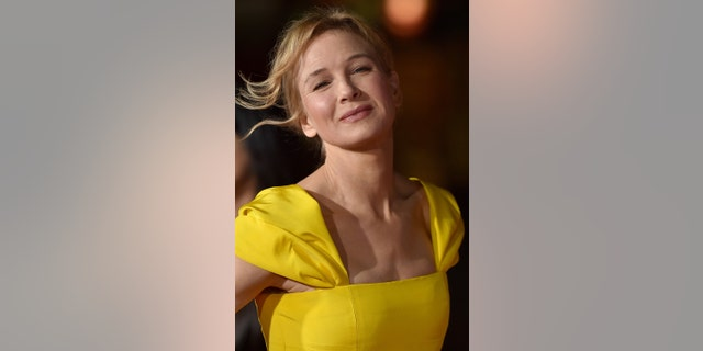 """Renee Zellweger arrives at the premiere of """"Same Kind of Different as Me"""" on Oct. 12, 2017, in Westwood, Calif. (Photo by Axelle/Bauer-Griffin/FilmMagic)"""