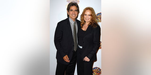 Peter Lopez and Catherine Bach (Photo by SGranitz/WireImage)