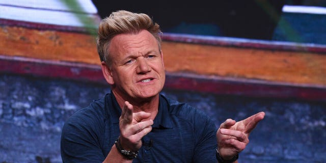 """Chef Gordon Ramsay expressed his disdain for chefs who disregard Michelin stars at National Geographic's """"Gordon Ramsay: Uncharted"""" panel at the Television Critics Association event July 23 in Beverly Hills."""