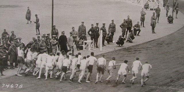 The Inter-Allied Games were contested between the U.S., Australia, Belgium, Canada, Czecho-Slovakia, France, Greece, Arabia, Italy, Newfoundland, New Zealand, Portugal, Romania and Great Britain.
