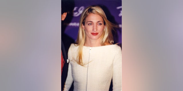 Carolyn Bessette at the 1998 Fire & Ice Ball in Los Angeles. (Photo by Jeff Kravitz/FilmMagic)