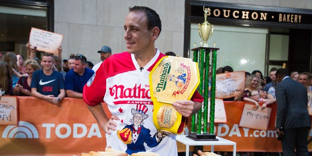 Joey Chestnut realized that Kobayashi could lose when he was beaten by a bear.
