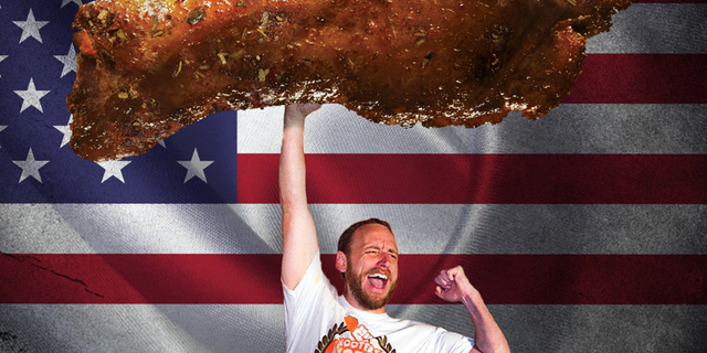 """He is officially the Wing King of National Chicken Wing Day,"" Hooters later announced."