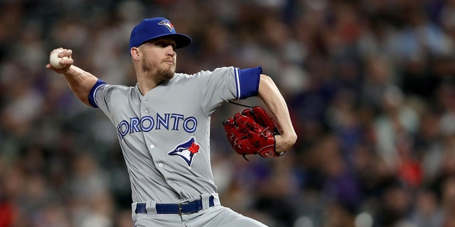 Westlake Legal Group Ken-Giles- Toronto Blue Jays' Ken Giles suffers nerve inflammation in pitching elbow after massage, manager says Ryan Gaydos fox-news/sports/mlb/toronto-blue-jays fox-news/sports/mlb fox news fnc/sports fnc article 37201082-293e-52ee-9be7-02062b395b85