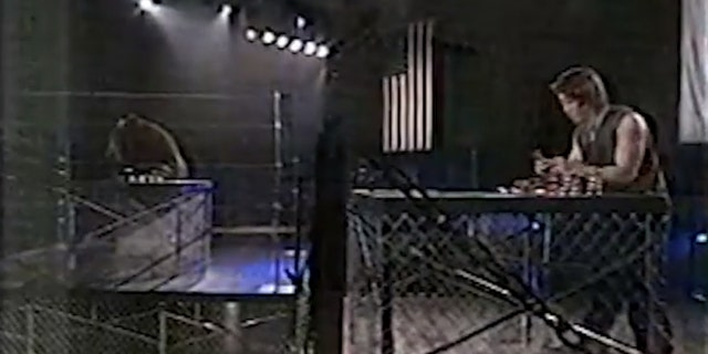 """Kobayashi squared off against the Kodiak bear in a 2003 special on Fox, called """"Man vs. Beast."""" In this event, the beast ended up besting Kobayashi."""