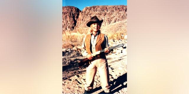 "Michael Learned in ""Gunsmoke,"" circa 1973."