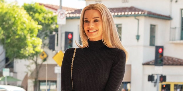 "Margot Robbie playing Sharon Tate in the new Quentin Tarantino film ""Once Upon a Time in Hollywood."" (Sony Entertainment)"