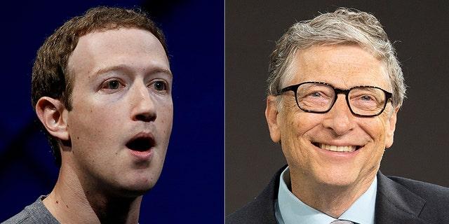 Facebook CEO Mark Zuckerberg is friends with Microsoft co-founder Bill Gates.