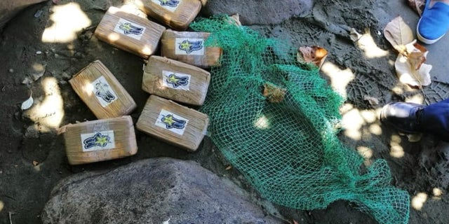 The Mauban Municipal Police recovered 7 bricks of heroin on a seashore of Barangay Cagsiay in Quezon that authorities estimated to have a travel value of over $1.8 million USD.