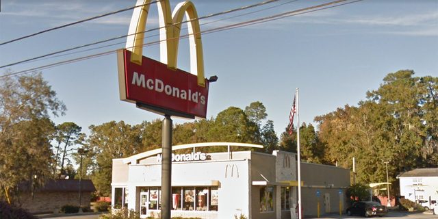 The owner of the McDonald's said he offered the woman a refund before she took off.