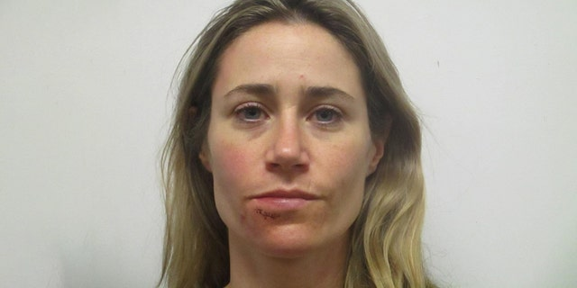 """Deputies said Metro Nashville Police Det. Megan Hoffman had a """"busted lower lip"""" as well as """"red marks to the right side of her face."""" after an alleged domestic violence incident."""